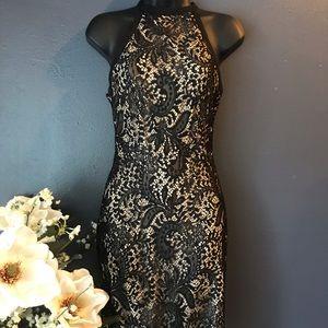 Charlotte Russe - Lace Halter Dress